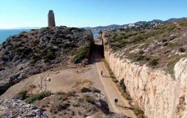 Via Verde entre Benicassim y Oropesa