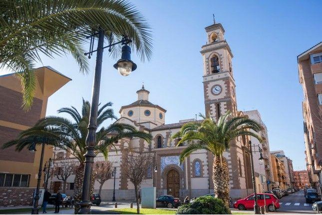 Die Stadt Castellon de la Plana