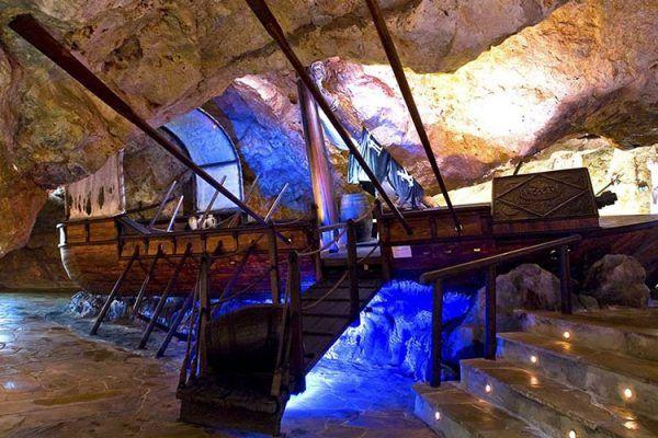 Höhlenmuseum des Piraten Dragut