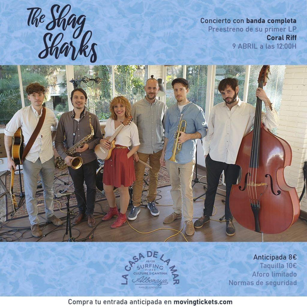The Shag Sharks es una banda que combina la música y el baile.